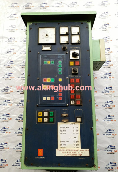 norcontrol kongsberg systems  hand marine engine control systems alang hub india